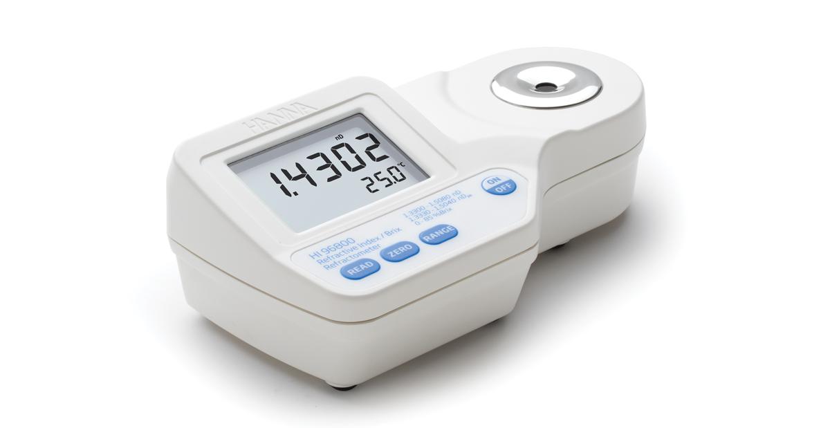 Hi96800 digital refractometer for refractive index and for Cuisine instrument